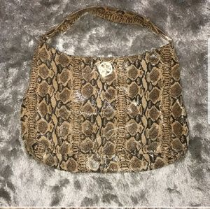 Authentic  Tory Burch Snakeskin Hobo